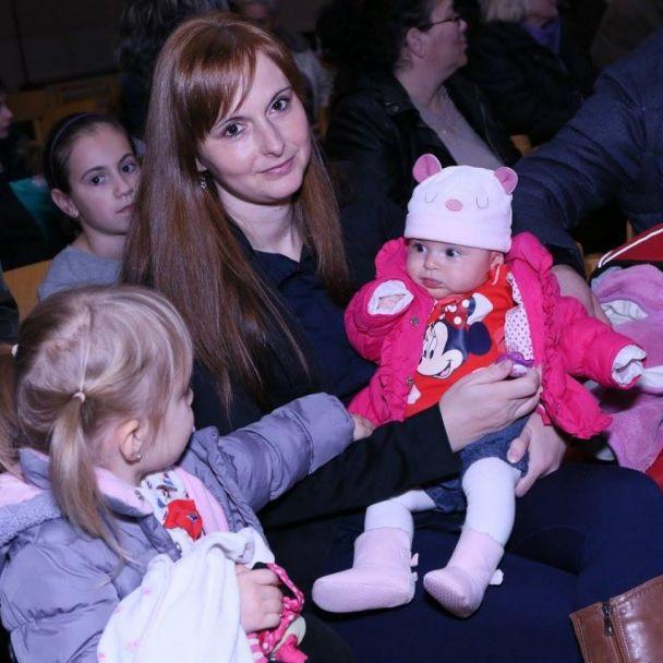 Privýtanie novorodenocov a és Mikulášská oslava 2015